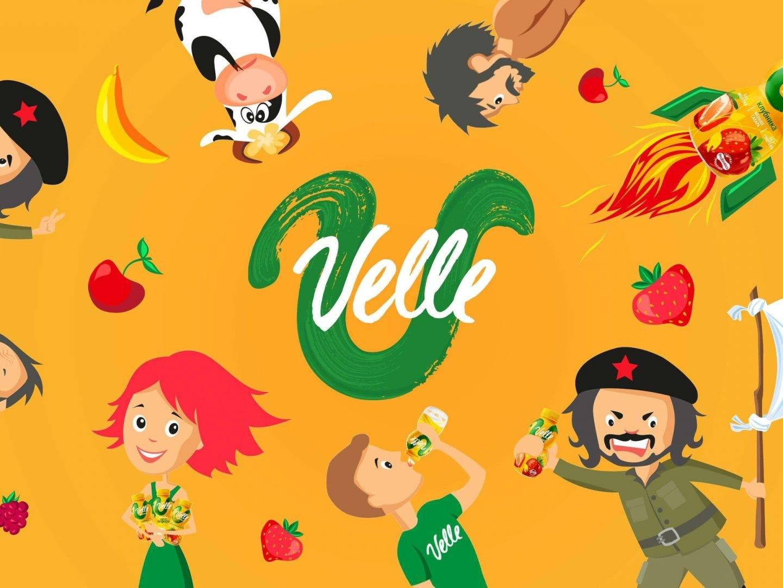 Разработка презентации для Velle (Велле) Брендинговое агентство Bramar